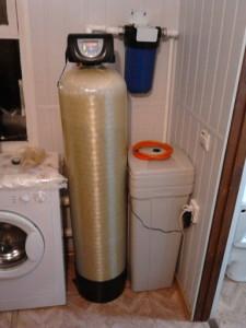 Стандарт В составе системы: серия умягчающих фильтров: EW-softiner (EW-Sof)