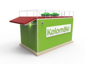 Станция очистки стоков Kolo Ilma